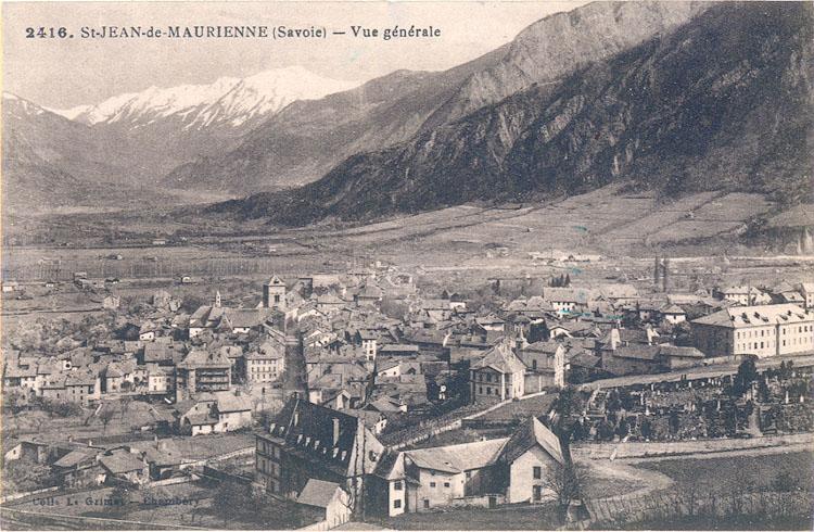 Cartes Postales Anciennes de Saint Jean de Maurienne et